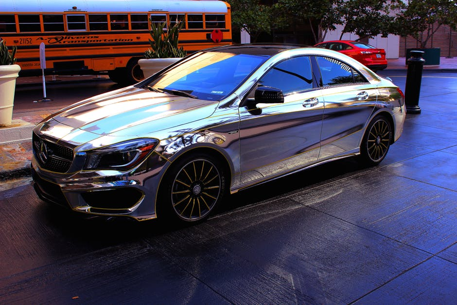 chrome car wrap